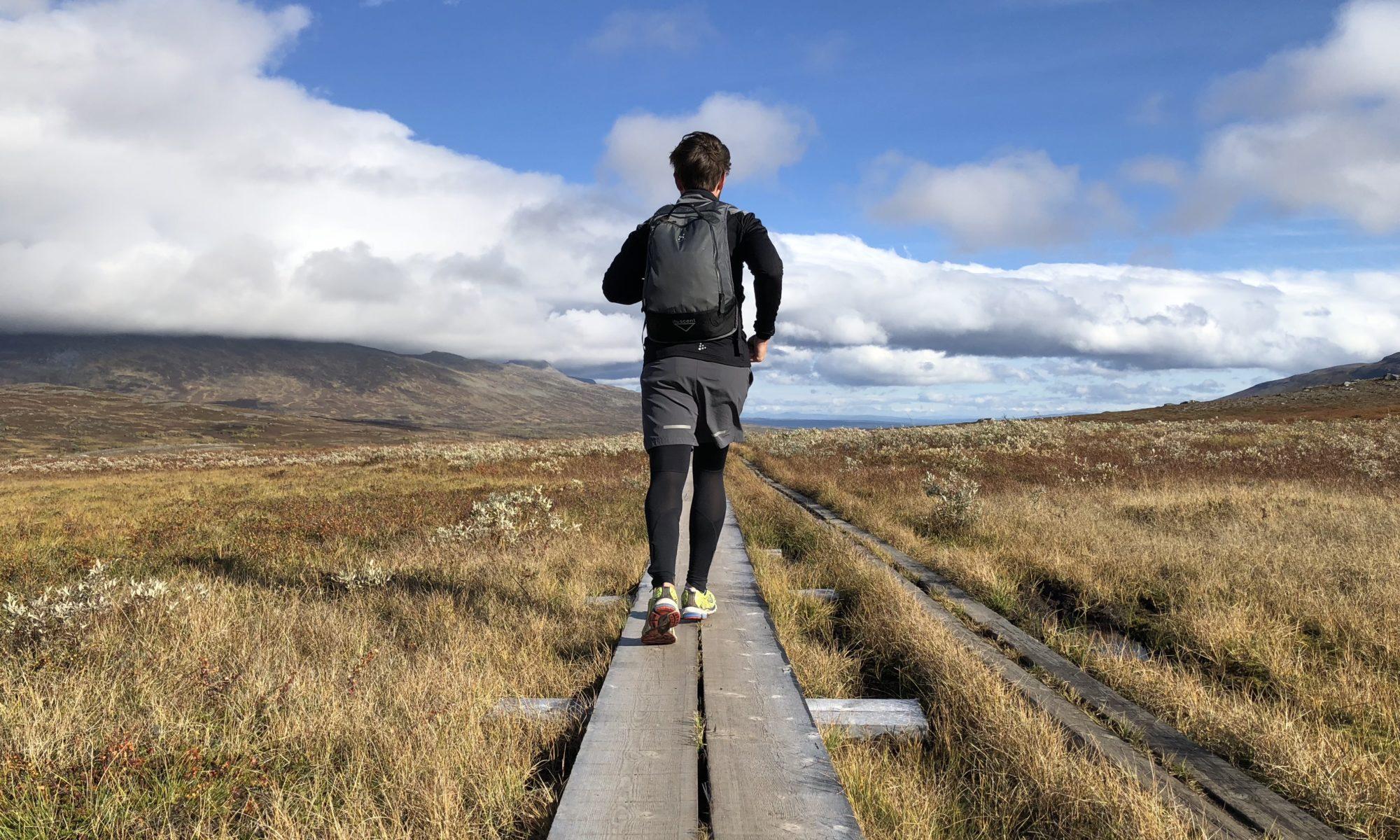 Man springer Jämtlandstriangeln